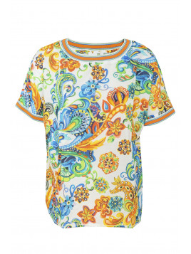 Halbarm Shirtbluse 6855-147812-198