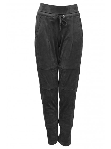 Candice Stripe Jersey schwarz